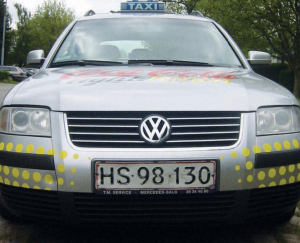 taxi-deko